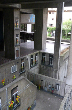 Concrete wall - Leuven