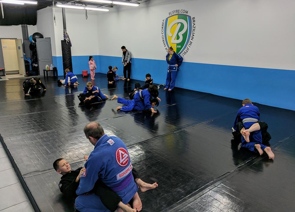 A photo from our kids Brazilian jiu-jitsu program in Centennial