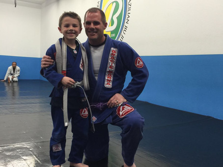 Kids Promotion at Busy BJJ