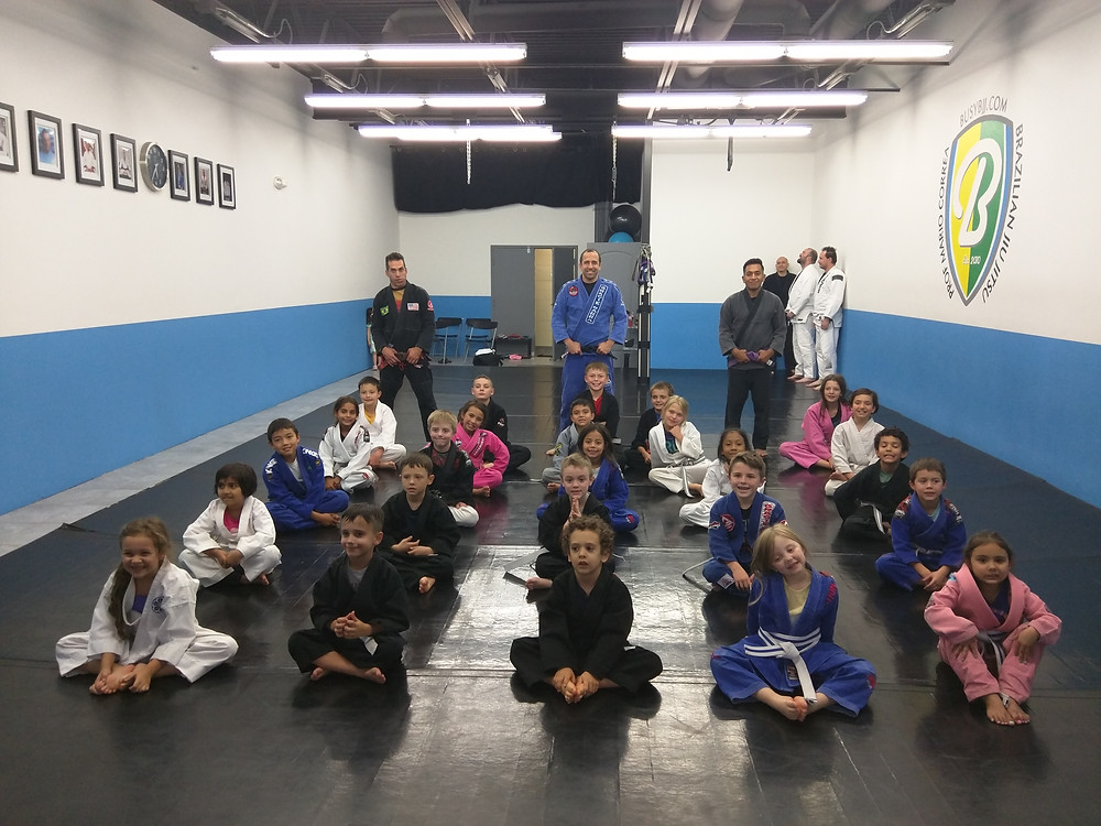 Busy kids class yesterday