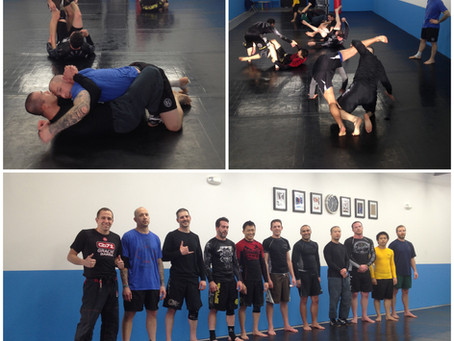 No Gi class growing! New colors at the gym! Gary is back!