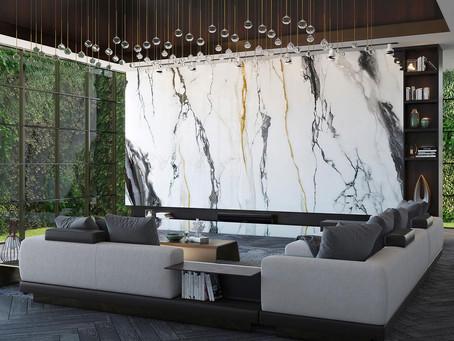 Pannelli decorativi GRANDI MARMI anche in versione flessibile