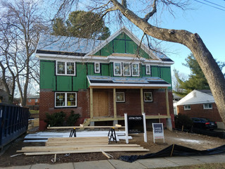 NoBe - Addition, Windows, & Exterior Trim