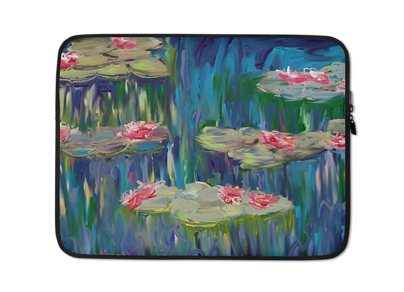 """""""Water Lily"""" 00.6 Laptop Sleeve"""