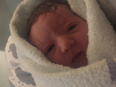 Baby Thea: Induction Hospital Birth for First Time Mum