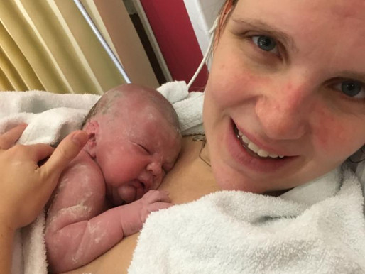 Baby N: Lewisham Birth Centre Waterbirth with Second Baby