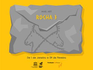"ARTE POSTAL — ""A ROCHA 3"""