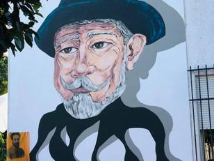 Mural a Júlio Brandão