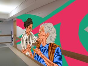 A Casa ao Lado quer levar cor e esperança ao hospital de Famalicão.