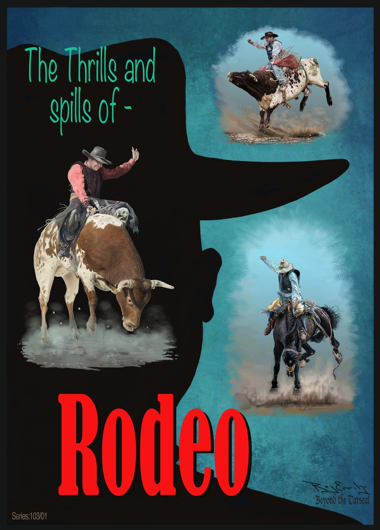Series: 105/01 The thrills & spills of Rodeo.