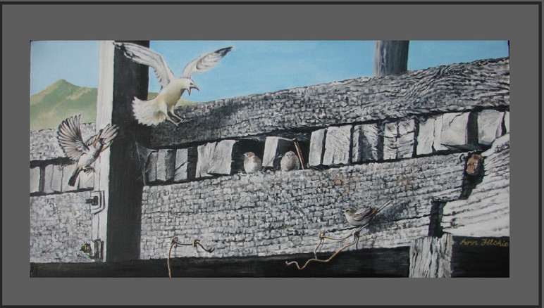 S201 Birds on Takamatua Bay .Price: $675