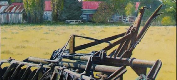 Disk Plough, Petries farm Woodend