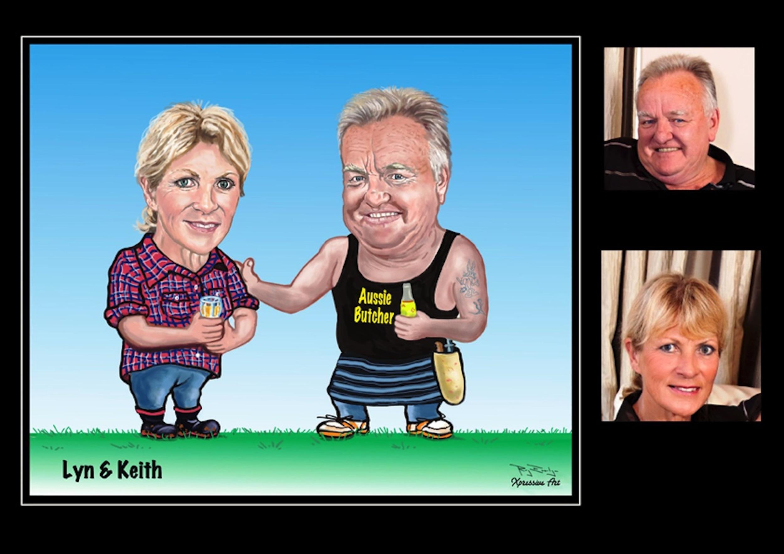 Lyn & Keith.