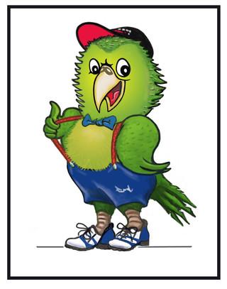 Boy Kakapo with sneakers & hat.jpg