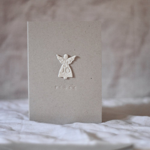 Pack of Three Handmade Christmas Cards