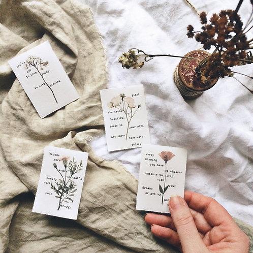 Set of 12 Affirmation Cards