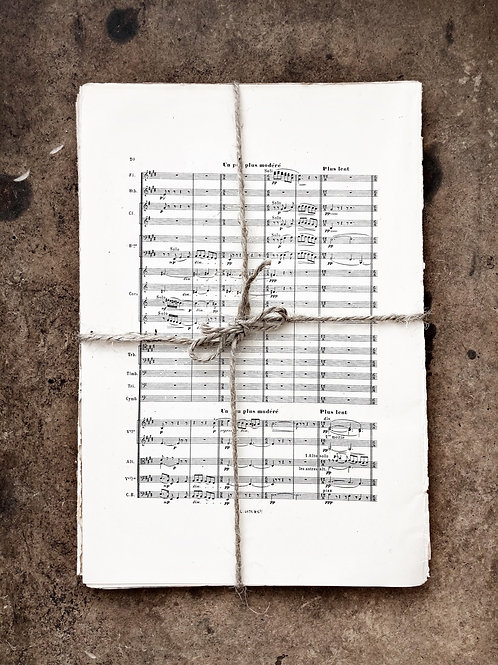 25 Pages of Vintage Sheet Music