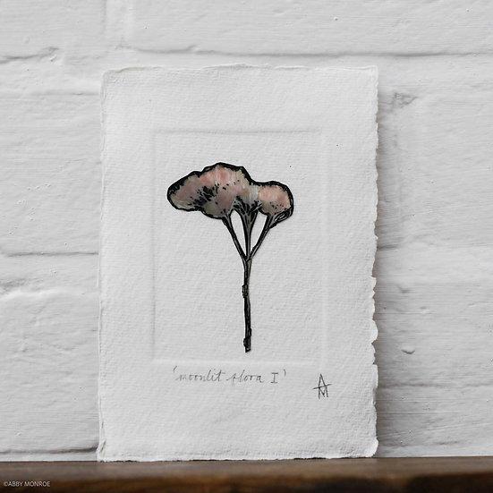 Moonlit Flora I