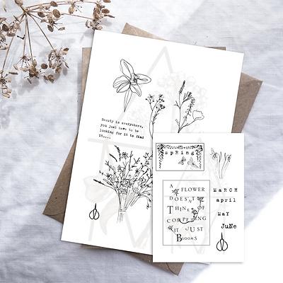 Spring Art Journal Kit