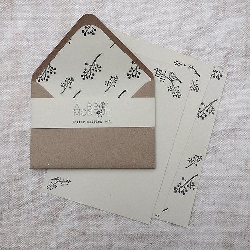 Botanical Letter Writing Set