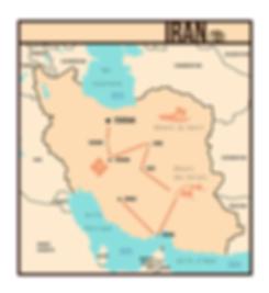 Itinéraire Iran