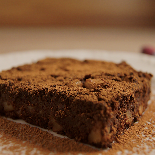 Brownie de bata doce
