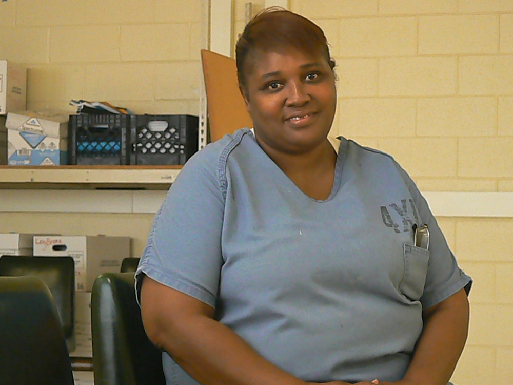 """Chicago's Cook County inmate, Joyce Harris, cast her vote from jail stating, """"I want to be a part of change."""""""