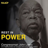 NAACP Mourns Passing of Civil Rights Giant John Lewis