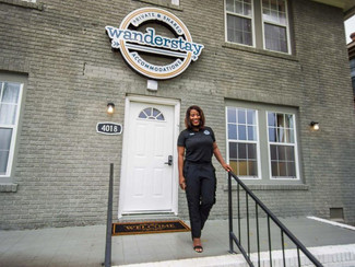 A New Place to Stay: Deidre Mathis has opened the nation's first African-American-owned hostel