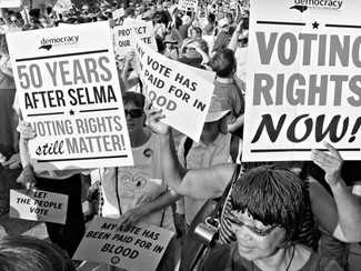 Jim Crow 2018: Black voting rights under attack in America