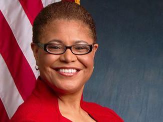 Rep. Karen Bass Takes Helm of Black Caucus