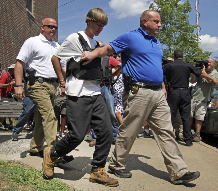 Dylann Roof arrested in South Carolina