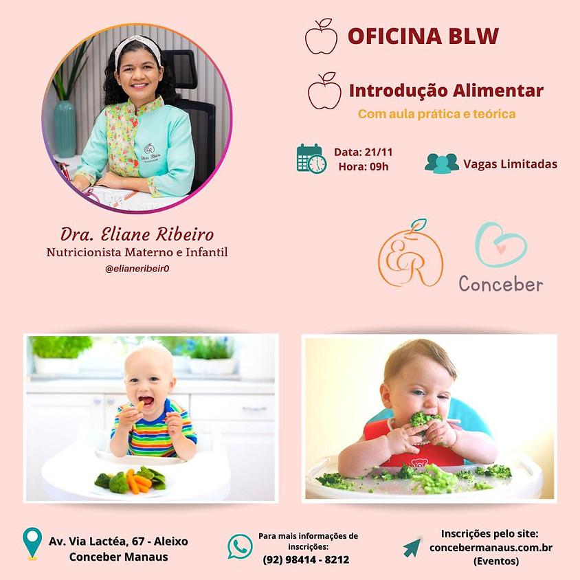 OFICINA BLW E INTRODUÇÃO ALIMENTAR