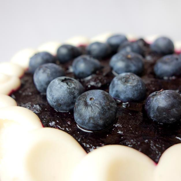Blueberry Maple Cake