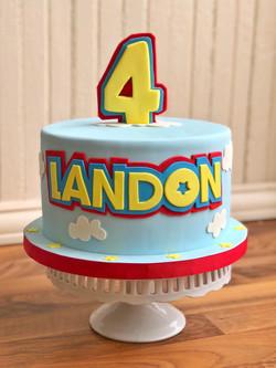 Childs Birthday Cake