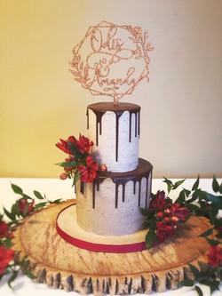 Signature drip cake
