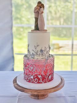 Pattern Wedding Cake