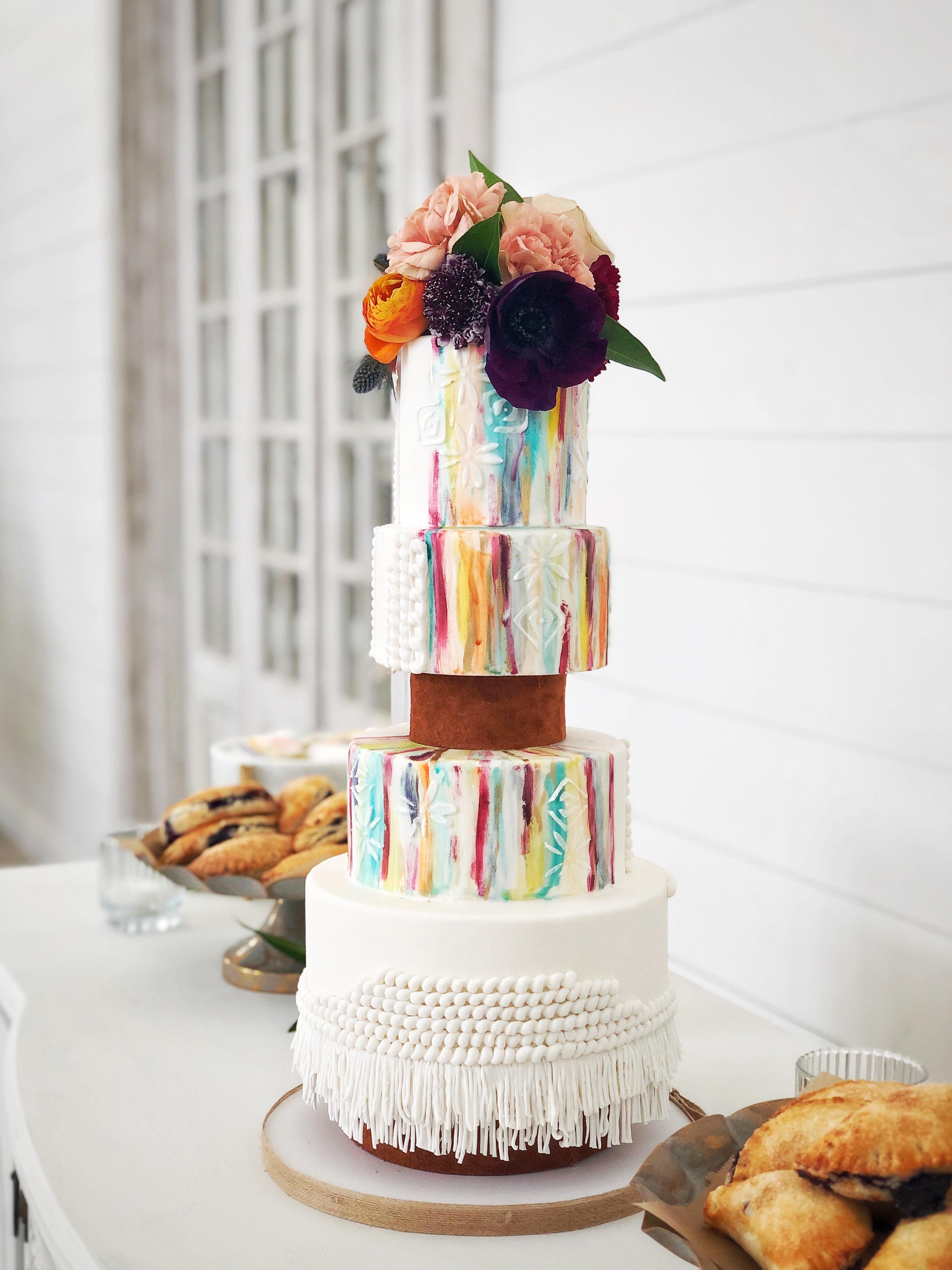 Boho Style Cake