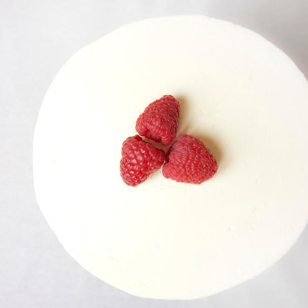 Rapberry Vanilla Cake
