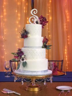 Swarovski Detailed Fondant Cake