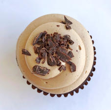 Double Dark Chocolate Cupcake