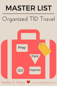 Traveling with a T1D Kiddo