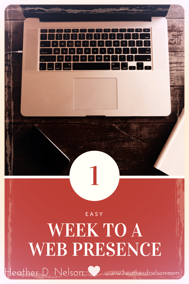 1 Week To A Web Presence