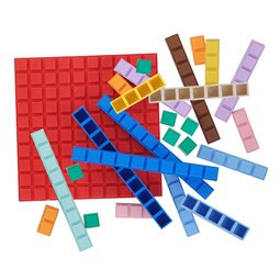 Like LEGOS for math!