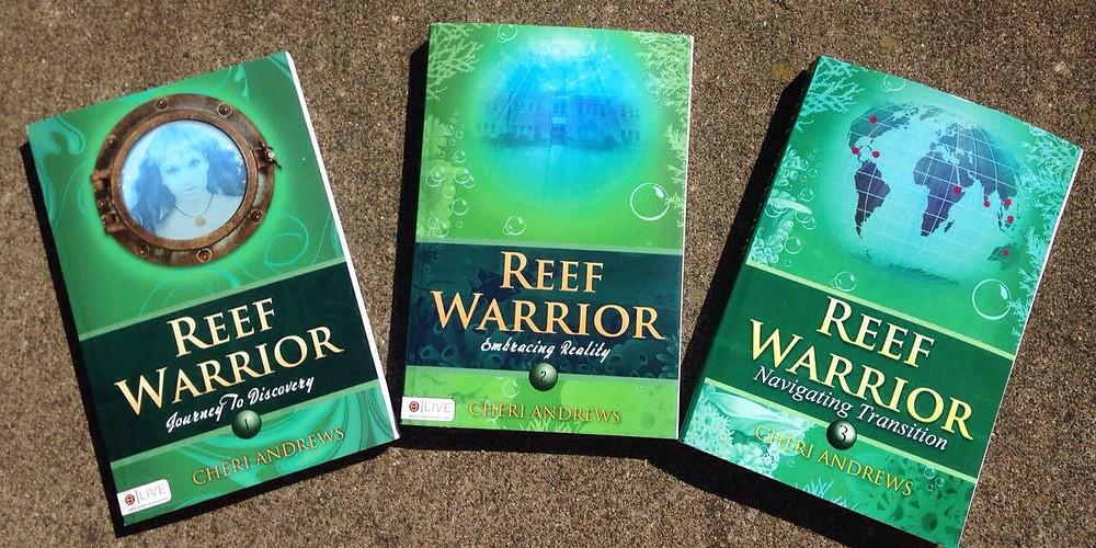Reef Warriors series by Cheri Andrews