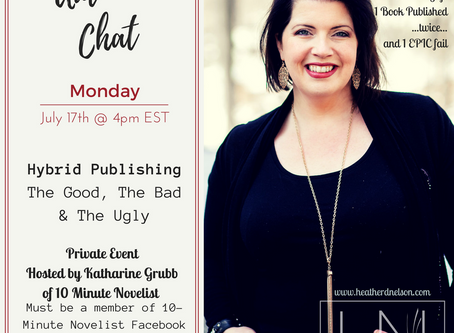 Author Chat: Hosted by 10 Minute Novelist