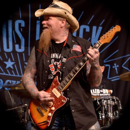 Author Interview - Pontus J. Back (The Rockin' Reverend)