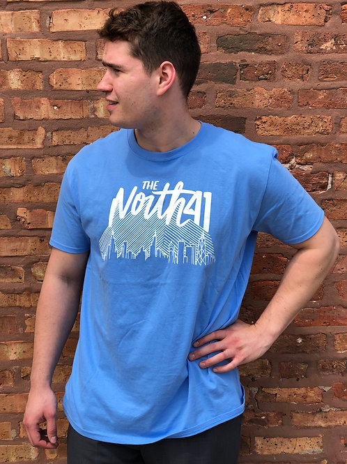 Light Blue Skyline T-Shirt
