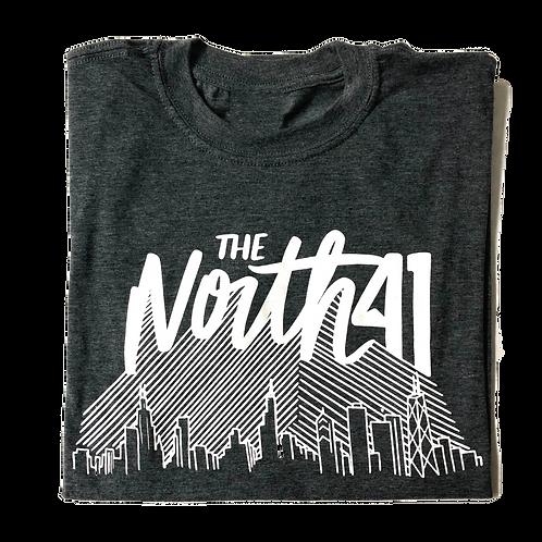 Dark Grey Skyline T-Shirt
