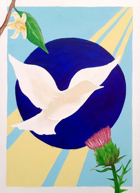 Hope Blooms & Peace Soars